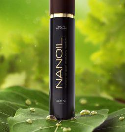 hiusten nuorentuminen öljyillä Nanoil