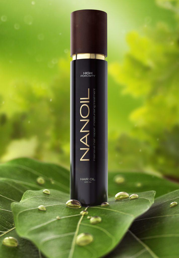 Nanoil hiuksille – tähti öljyjen keskellä